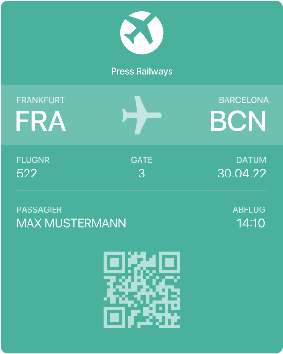 Google | Android Boarding Pass