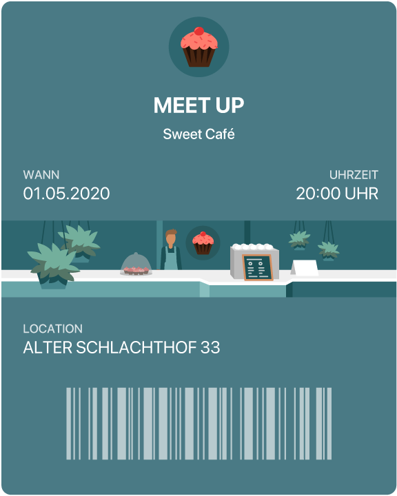 Google | Android Event Ticket